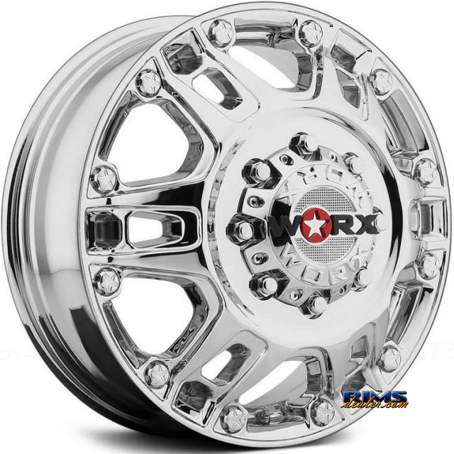 Pictures for Worx Alloy Off-Road 803C BEAST DUALLY Chrome