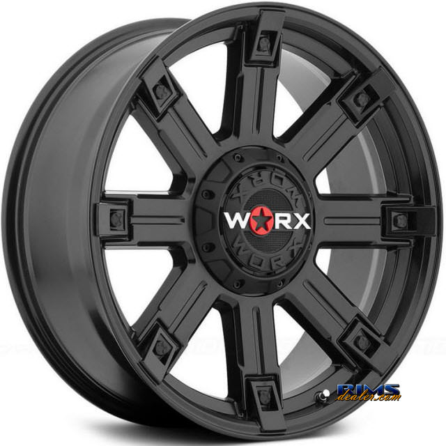 Pictures for Worx Alloy Off-Road 806SB TRITON Black Flat