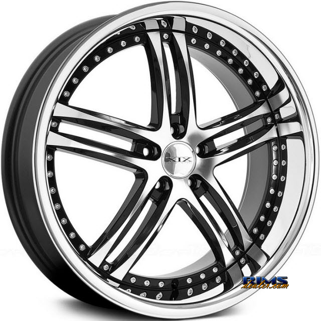 Pictures for XIX Wheels X15 Black Gloss w/ Machined