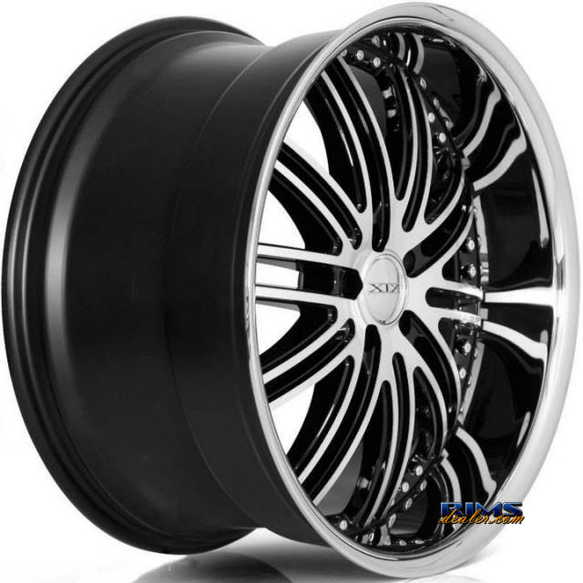 Pictures for XIX Wheels X23 Black Gloss w/ Machined