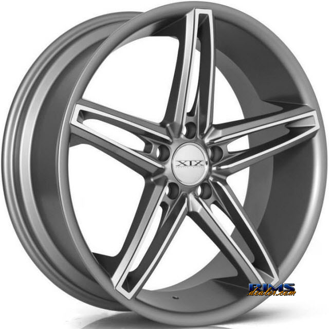 Pictures for XIX Wheels X33 machined w/ gunmetal