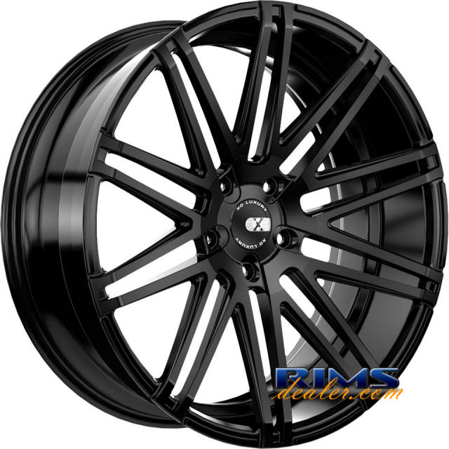 Pictures for XO Luxury Wheels MILAN black flat