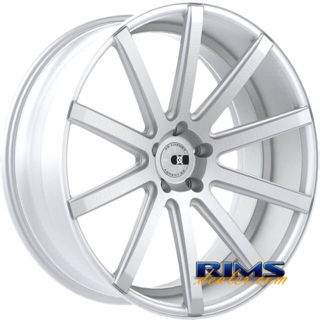 Pictures for XO Luxury Wheels TOKYO machined w/ silver