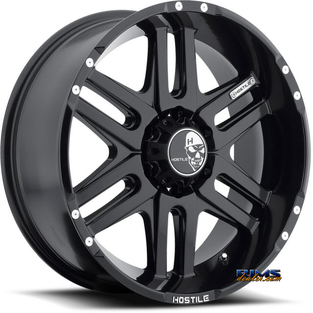 Pictures for Hostile Truck Wheels H104 - ZOMBIE 6 satin black