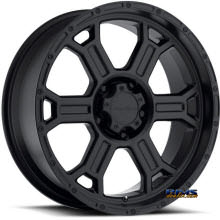 Vision Wheel Raptor 372 black flat