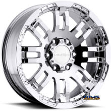 Vision Wheel Warrior 375 chrome