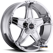 Vision Wheel Wizard 395 chrome