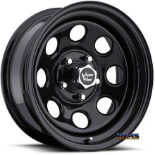 Vision Wheel Soft 8 85 black flat
