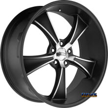 AMERICAN RACING VN805 Blvd Satin Black
