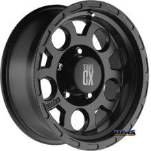 KMC XD Off-Road XD122 Enduro Black Flat