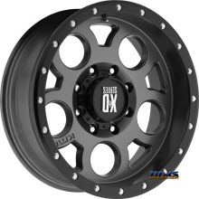 KMC XD Off-Road XD126 Black Flat