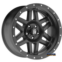 KMC XD Off-Road XD128 SATIN BLACK