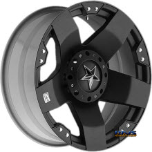 KMC XD Off-Road XD775 Rockstar Black Flat