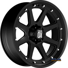 KMC XD Off-Road XD798 Addict Black Flat