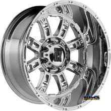 KMC XD Off-Road XD809 Riot CHROME