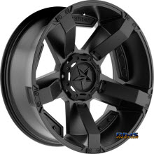 KMC XD Off-Road XD811 Rockstar II Satin Black