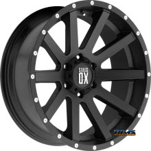 KMC XD Off-Road XD818 Heist Satin Black