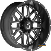 KMC XD Off-Road XD820 Satin Black