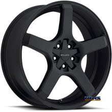 Vision Wheel Milanni VK-1 464 (5 lugs only) black flat