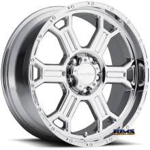 Vision Wheel 372 Raptor chrome